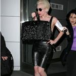 Lady Gaga arriving at JFK 62878