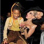 Lady Gaga with Willow Smith Grammy Awards 2011 78941