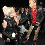 Lady Gaga with Jaden Smith Grammy Awards 2011 78943