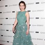Emilia Clarke at the Game of Thrones DVD premiere in London 107844