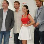 Sean Bean, Nikolaj Coster-Waldau, Emilia Clarke, Mark Addy  attend Game of Thrones photocall at the Monte Carlo Television Festival in France 87162