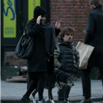 Peter Dinklage with wife Erica and their newborn daughter in New York 103855