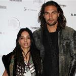 Jason Momoa and Lisa Bonet attend a fundraiser in Venice CA 86381