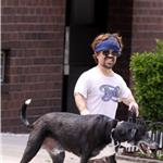 Peter Dinklage out for a walk with his dog and girlfriend in New York 86387