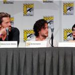 Nikolaj Coster-Waldau, Kit Harington and Lena Headey at Game of Thrones Comic-Con 2011 90623