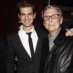 Andrew Garfield with Mike Nichols at The 2012 New York Drama Critics' Circle Awards  114557