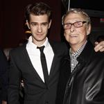 Andrew Garfield with Mike Nichols at The 2012 New York Drama Critics' Circle Awards  114558