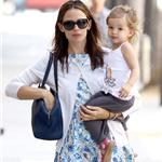 Jennifer Garner and daughter Seraphina shopping in Santa Monica June 2011 89176