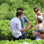 Garrett Hedlund, Kate Mara, Max Minghella, and Andrew Garfield in Maui for Maui Film Festival  87612