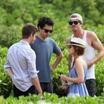 Garrett Hedlund, Kate Mara, Max Minghella, and Andrew Garfield in Maui for Maui Film Festival  87613
