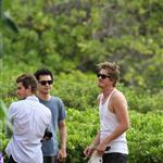 Garrett Hedlund, Kate Mara, Max Minghella, and Andrew Garfield in Maui for Maui Film Festival  87614