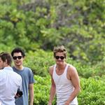 Garrett Hedlund, Kate Mara, Max Minghella, and Andrew Garfield in Maui for Maui Film Festival  87615