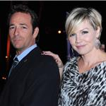 Luke Perry and Jennie Garth at Hallmark TCA party January 2011 76426