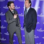 Jason Priestly and Luke Perry at Hallmark TCA party January 2011 76435