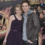 Peter Facinelli and daughter Luca at The Hunger Games premiere 108826