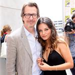 Gary Oldman and Mila Kunis at Comic-Con for The Book of Eli 43607