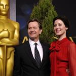 Gary Oldman and his wife at the 84th Academy Awards Nominations Luncheon 105041