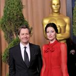 Gary Oldman and his wife at the 84th Academy Awards Nominations Luncheon 105042