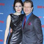Gary Oldman and Alexandra Edenborough at the German premiere of Tinker Tailor Soldier Spy 103808