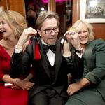 Gary Oldman with Glenn Close and Janet McTeer at the 2012 Vanity Fair Oscar party 107414