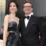 Gary Oldman at the 84th Annual Academy Awards with his wife Alexandra Edenborough   107419
