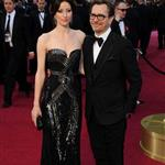 Gary Oldman at the 84th Annual Academy Awards with his wife Alexandra Edenborough   107420