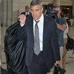 George Clooney in Washington for Darfur with John Prendergast 70610