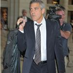 George Clooney in Washington for Darfur with John Prendergast 70611