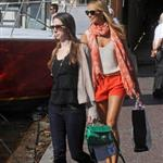 Stacy Keibler shops with friends in Italy 117554