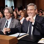 George Clooney at a Senate Foreign Relations Committee hearing along with human rights activist John Prendergast on Capitol Hill in Washington, DC 108952