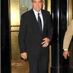 George Clooney in New York to meet with UN November 2010  73174