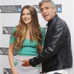 George Clooney and Shailene Woodley in London for The Descendants photocall  96663