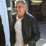 George Clooney in London for The Descendants photocall  96667