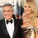 George Clooney and Stacy Keibler at the 84th Annual Academy Awards 107361