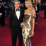 George Clooney and Stacy Keibler at the 84th Annual Academy Awards 107363