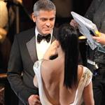 George Clooney and Sandra Bullock at the 84th Annual Academy Awards 107365