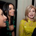 George Clooney at the 2012 White House Correspondents' Dinner with Rosario Dawson and Arianna Huffington 112801