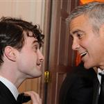 George Clooney at the 2012 White House Correspondents' Dinner with Daniel Radcliffe 112810