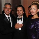 George Clooney at the 2012 White House Correspondents' Dinner with Kate Hudson and Matthew Bellamy 112811