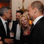 George Clooney at the 2012 White House Correspondents' Dinner with Paul Rudd, Elizabeth Banks and Woody Harrelson 112815