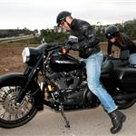 George Clooney takes Elisabetta Canalis on bike ride in Malibu 62319