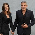George Clooney accompanies Elisabetta Canalis to Milan Fashion Week 69548