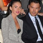 Megan Fox Brian Austin Green front row at Armani 69624