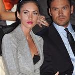 Megan Fox Brian Austin Green front row at Armani 69625