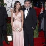 George Clooney and Elisabetta Canalis at the Golden Globes 2010 53459
