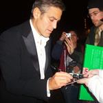 "George Clooney at Shutters after Critics"" Choice 16110"