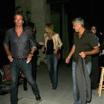George Clooney, Stacy Keibler, Cindy Crawford and Rande Gerber dine at Spago in Beverly Hills, CA 116964