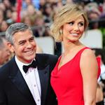 George Clooney and Stacy Keibler at the 2012 Golden Globe Awards 103087