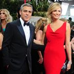 George Clooney and Stacy Keibler at the 2012 Golden Globe Awards 103089