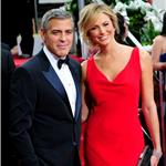 George Clooney and Stacy Keibler at the 2012 Golden Globe Awards 103090